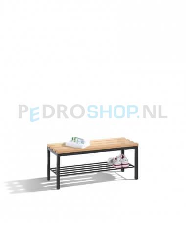 Schoenenrek 100 Cm.Voordelige C P Select Garderobe Zitbank Hout Schoenenrek 100 Cm