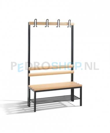 Schoenenrek 100 Cm.Goedkope C P Select Garderobebank Hout 100 Cm Breed Online Bestellen