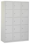 Locker PDC -T 310 3 koloms 15-deurs, inclusief labelhouder