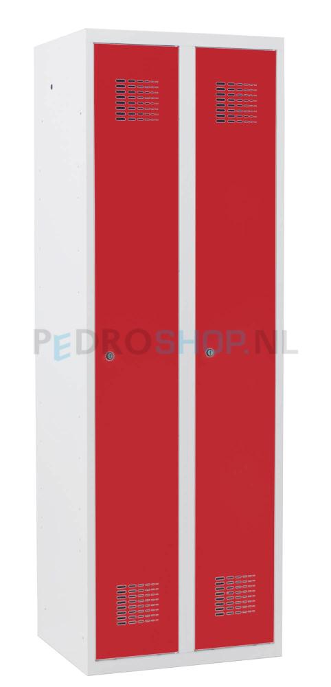 Een Deurs Garderobekast.Voordelige Sq 2 Deurs Garderobekast In Het Rood Online Te Bestellen